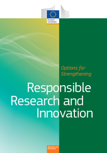 Options for Strenghtening Responsible Research and Innovation